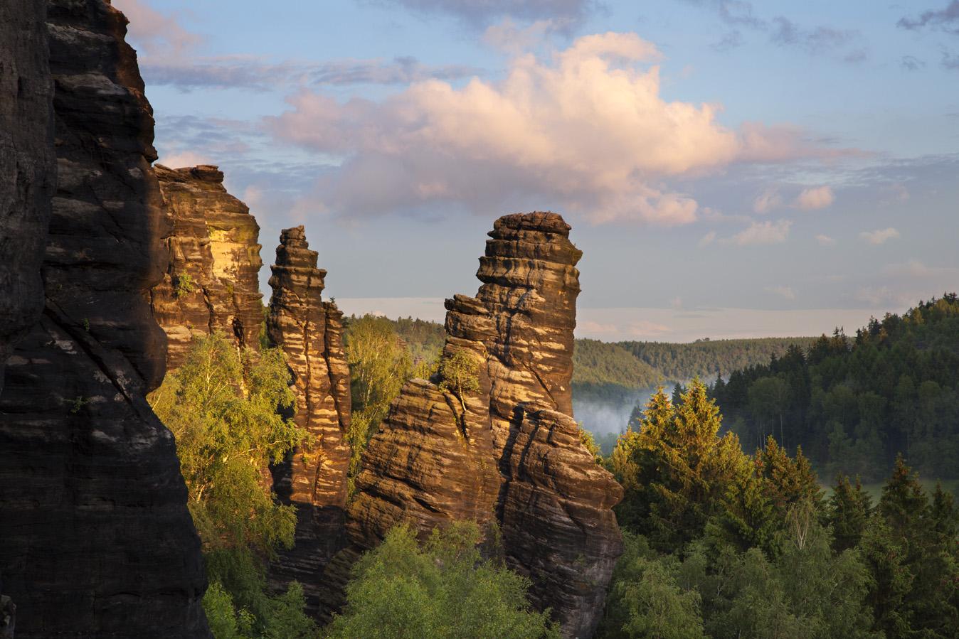 Die Regionen / Die Mittelgebirge