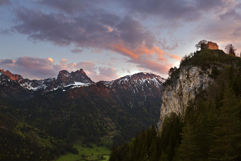Die Regionen / Die Alpenregion