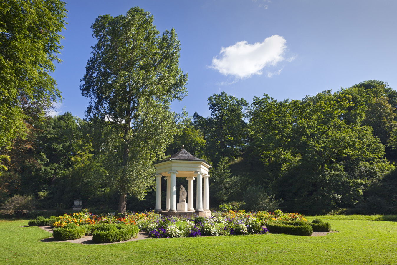 Landschaft im Licht / Gärten und Parks