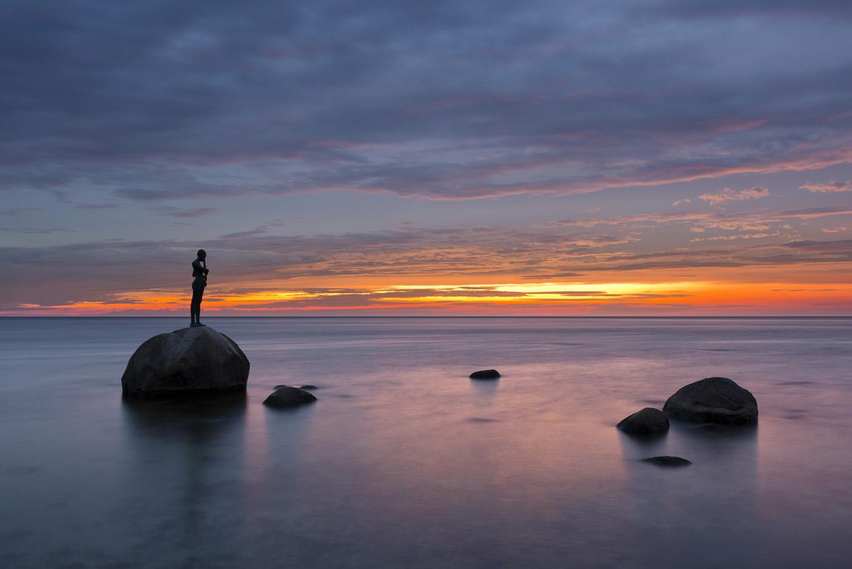 Landschaft im Licht / Das Meer